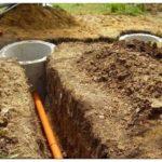копка траншеи для водопровода недорого