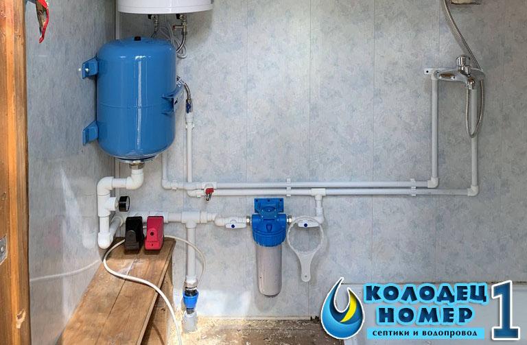 Водопровод для частного дома