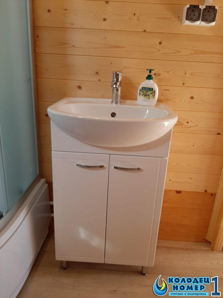 монтаж мойки для частного дома - водоснабжение из колодца