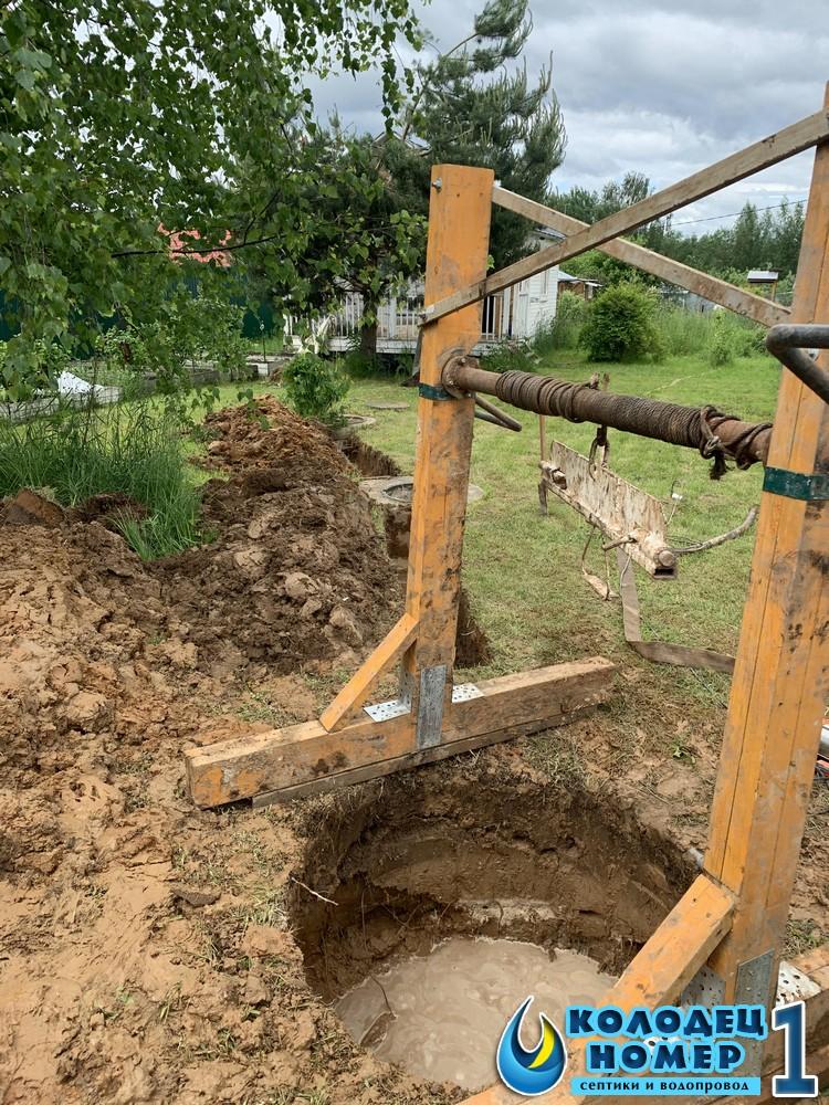 канализация бетонная для дачи цена под ключ
