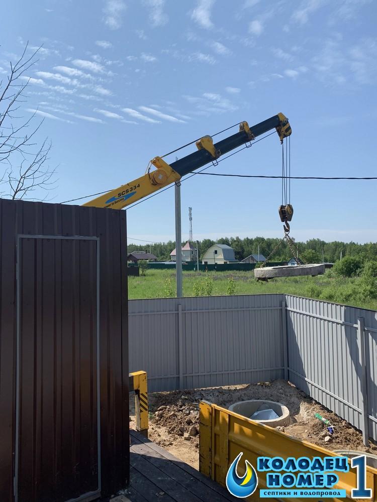 канализация из бетонных колец под ключ московская область