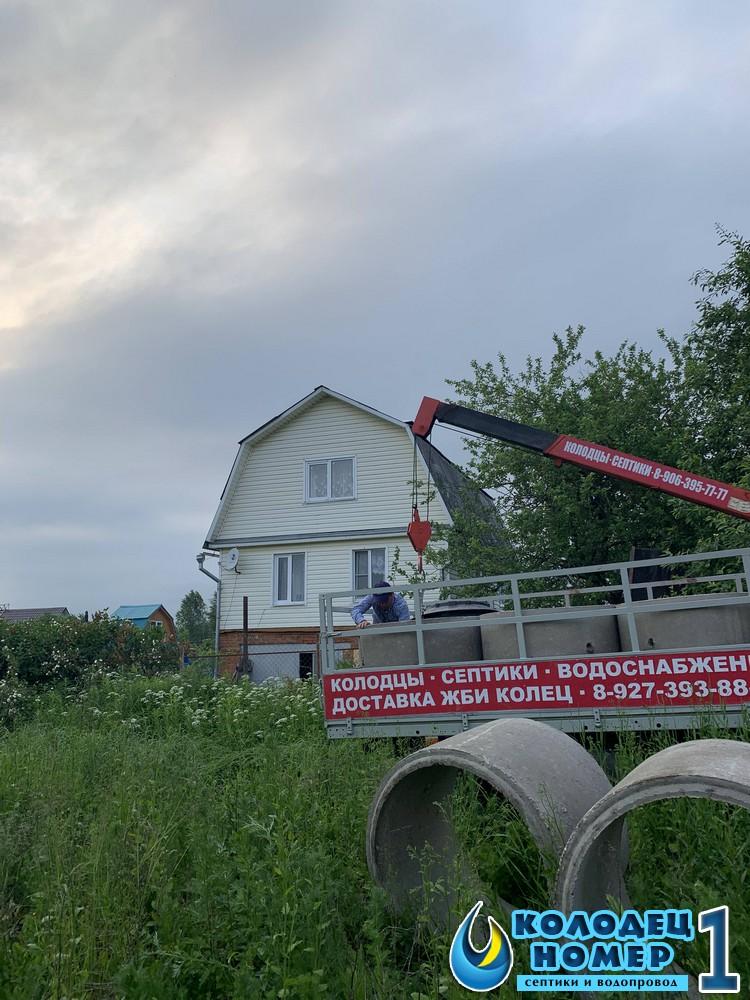 копка колодца для дачи стоимость под ключ московская область