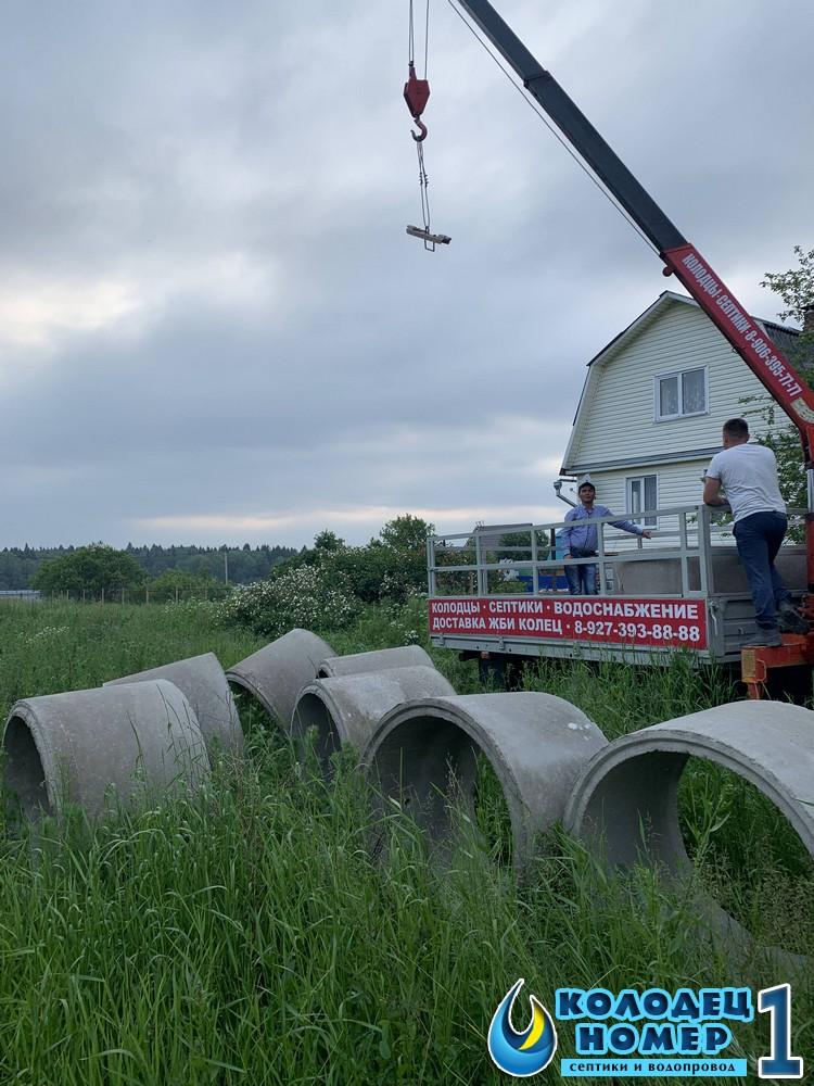 копка колодца для дачи московская область