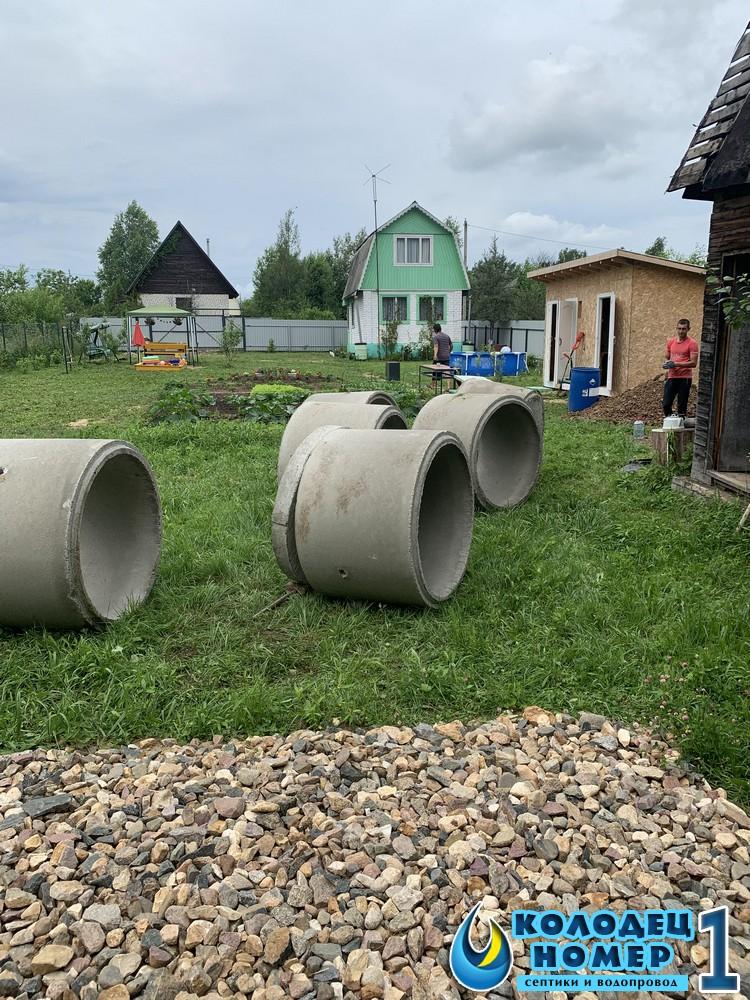 колодцы из колец московская область