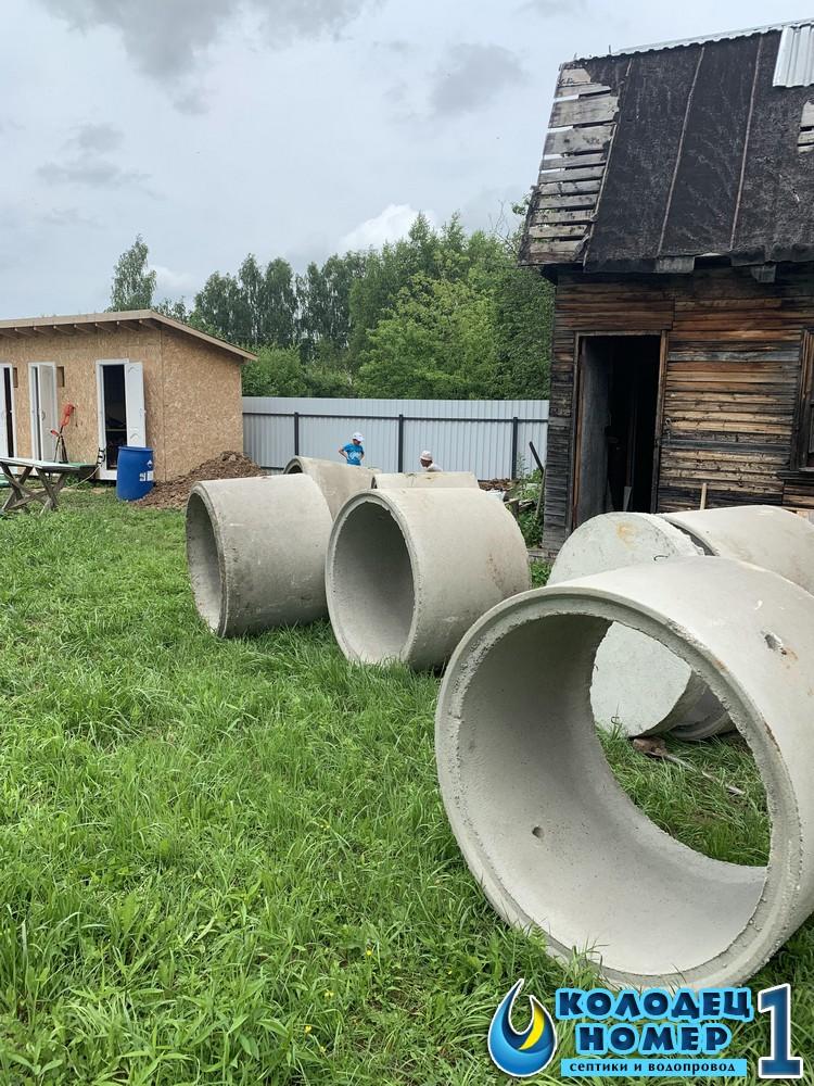 септики из колец московская область
