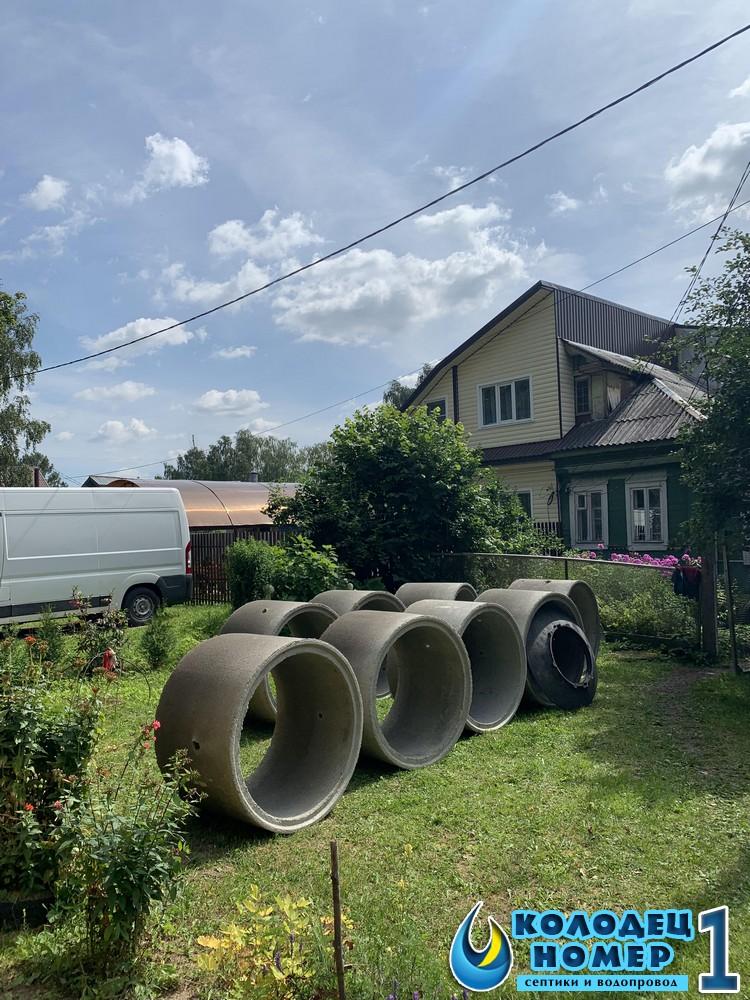 кольца для колодца доставка московская область
